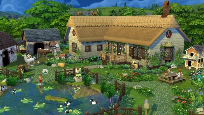 The Sims 4 Cottage Living Screenshot