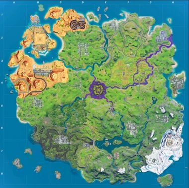 Fortnite Chapter 2 Season 5 Map New Map Tilted Towers Returning Galactus Event Details