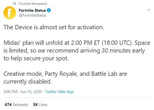fortnite device event time