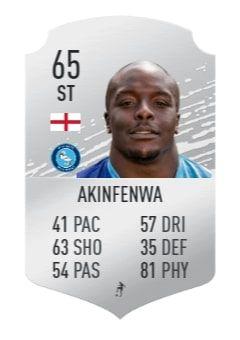 akinfenwa fifa 20 prediction