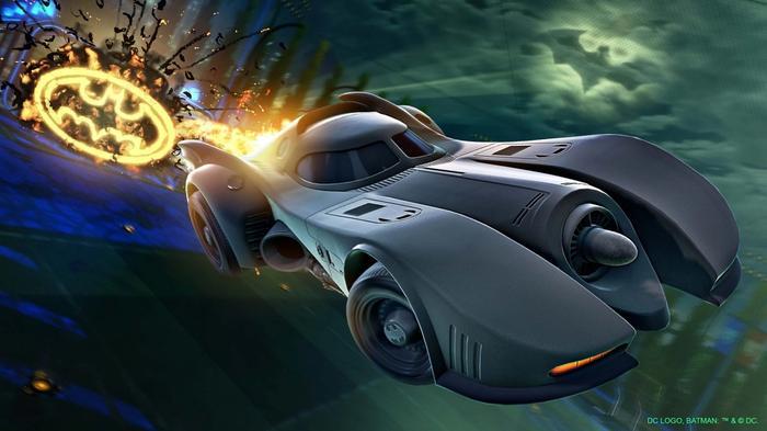 Rocket League Batman Store Bundles