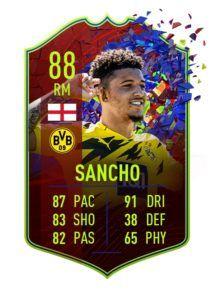 FIFA 21 Sancho RCB 88
