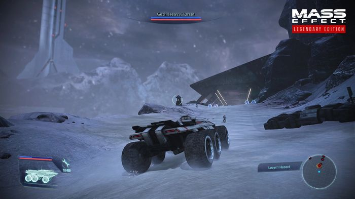 Mass Effect Legendary Edition Changes Mako snow