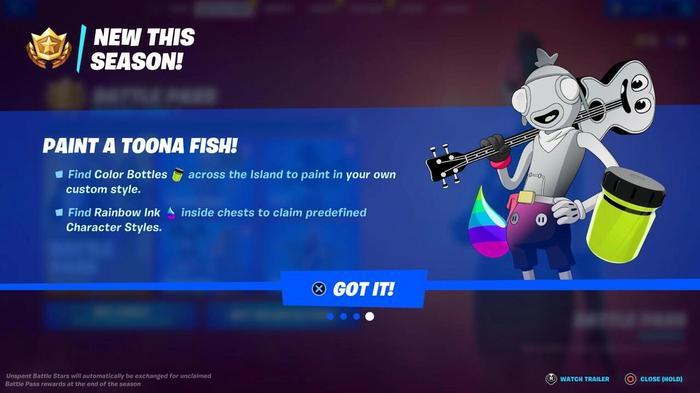 Toona Fish Fortnite Season 8 Color Bottle Locations