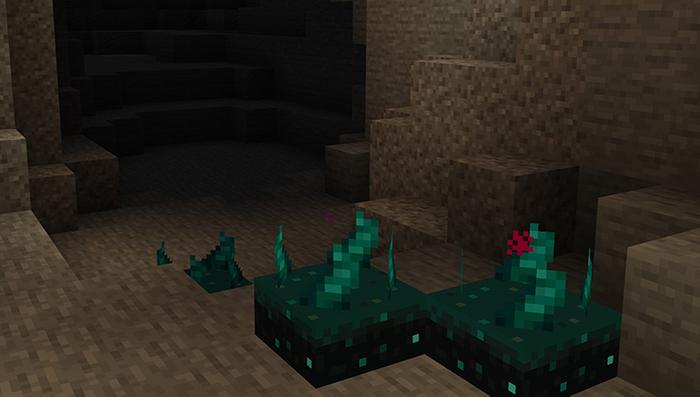 Minecraft 1.17 Caves and Cliffs Skulk Sensor Warden