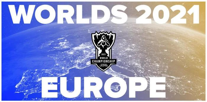 Official poster of LOL world championship 2021