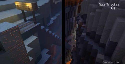 Minecraft Xbox Series X Ray Tracing 1