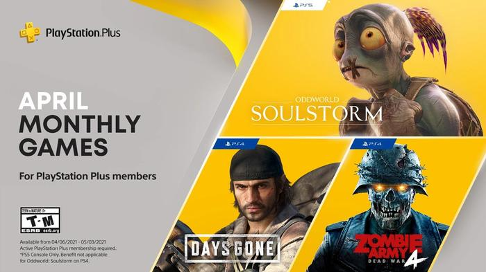 PS5 News Today PS Plus Days Gone Oddworld
