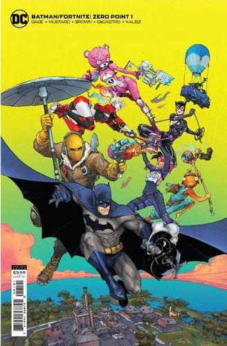Fortnite Batman Zero Point Issue 1 Cover