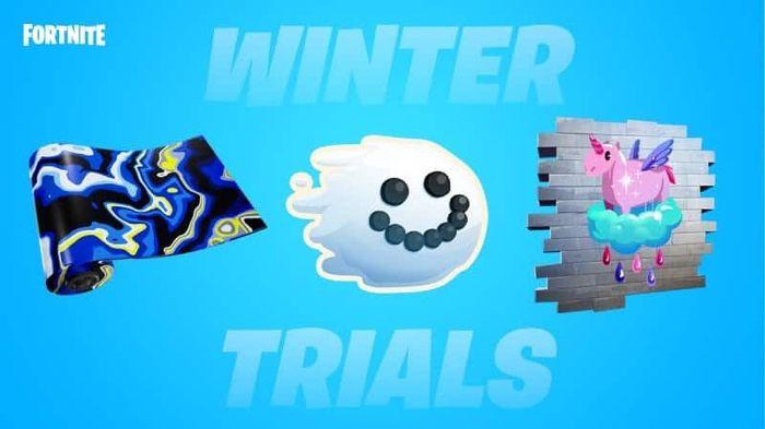 Fortnite Winter Trials 2021 Rewards