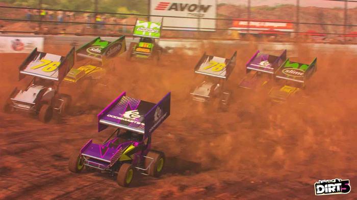 dirt 5 sprint cars