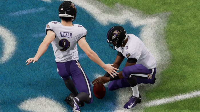 Justin Tucker in Madden 22 joins the 99 Club