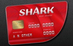 gtaV red shark card