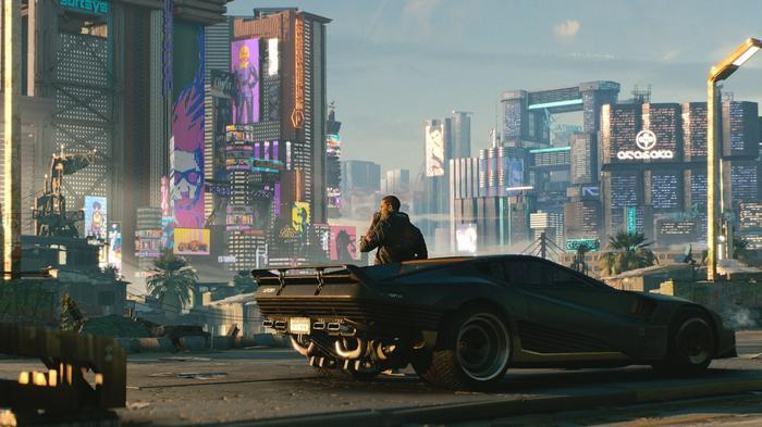 Tesla Cyberpunk 2077 Witcher 3 Gaming Model S