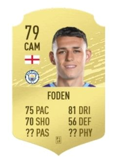 phil foden fifa 21 ratings reveal 1