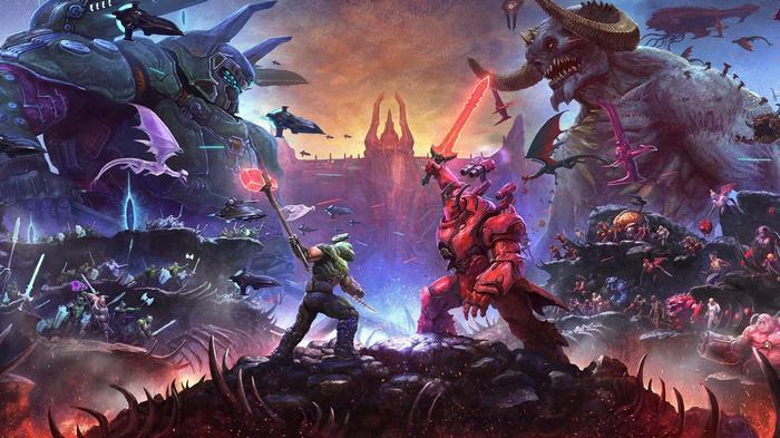 Doom Eternal The Ancient Gods Part 2 Cover Art Leak