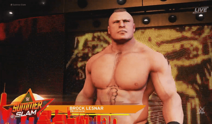 WWE 2K22 ratings brock lesnar highest rated