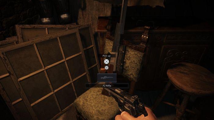 sniper rifle resident evil village