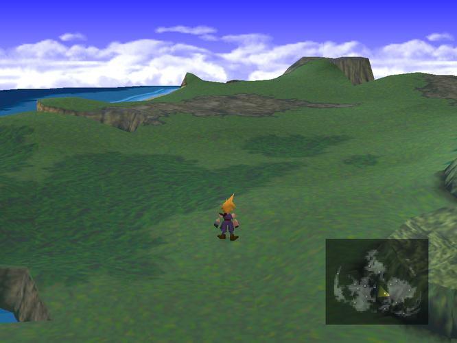 OPEN WORLD: FF7 had a world map, but it wasn't a true open world game.