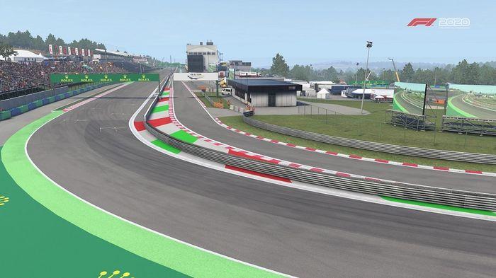 F1 2020 Hungarian GP Hungaroring Turn 14