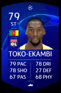 Toko Ekambi fut base card