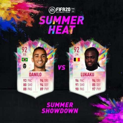 Summer Showdown Lukaku