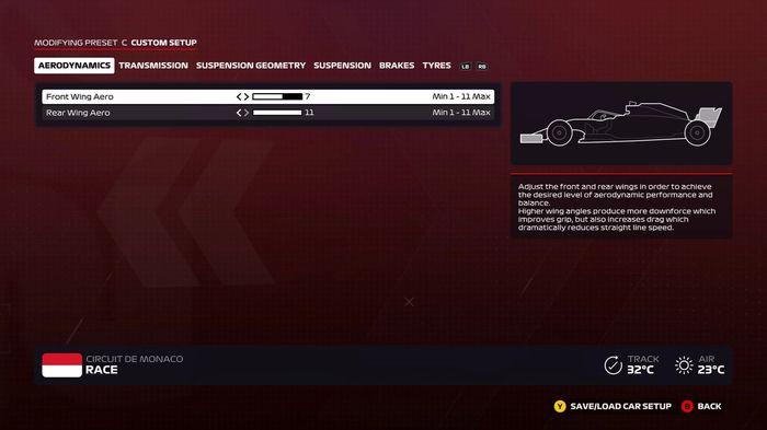 F1 2020 Monaco Wings