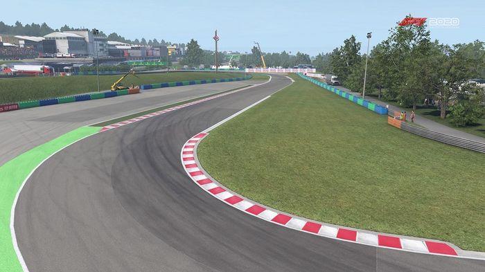 F1 2020 Hungarian GP Hungaroring Turn 12