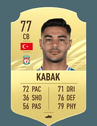 fifa 21 ozan kabak liverpool ultimate team