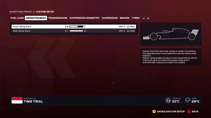 F1 2020 Monaco Wet Wings