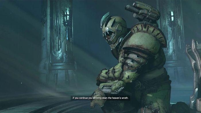 DOOM Eternal DLC 2 new weapon Ancient Gods Sentinel Armour