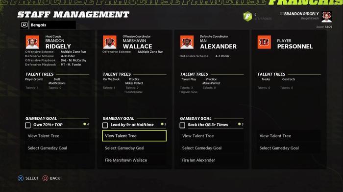 Madden 22 franchise scouting update september