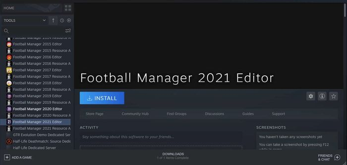 Football Manager 2021 Editor on Steam