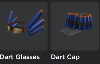 Roblox Nerf Dart Glass and Dart Cap