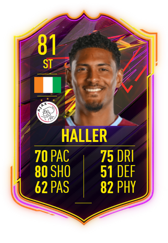 haller fifa 21 ultimate team otw concept