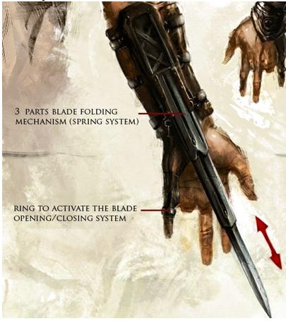 ac hidden blade missing finger
