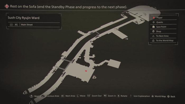 Scarlet Nexus Map