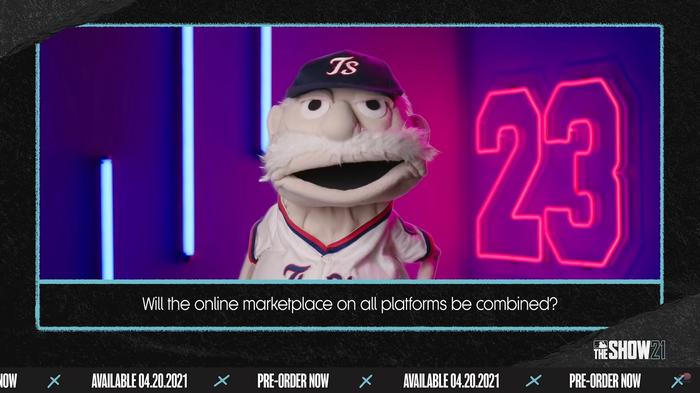 MLB The Show 21 Crossplay Diamond Dynasty