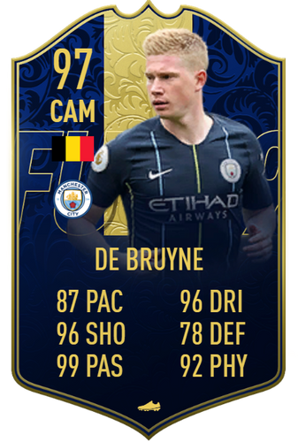 FRESH FACED! A mere 97 OVR on FIFA 19