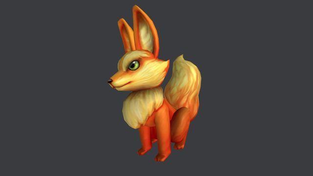roblox fiery fox shoulder pal 1