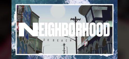 NBA 2K21 Neighborhoood 2K Beach