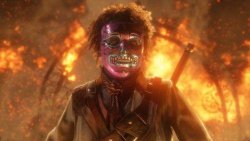 red dead online mask