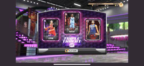 Triple Threat NBA