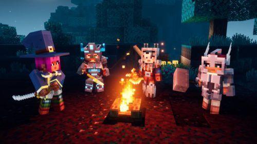 minecraft dungeons endgame camp