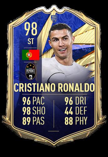 cristiano ronaldo fifa 21 team of the year