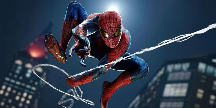 Marvels Spider Man Amazing suit remastered sony ps5