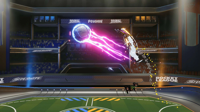 Rocket League mobile Sideswipe Power shot