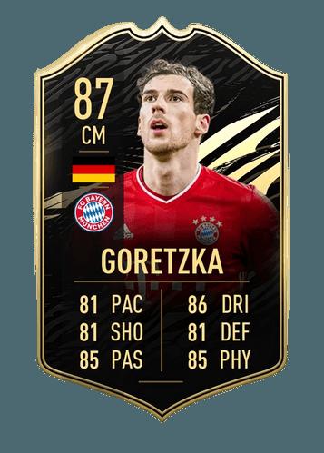 FIFA 21 FUT TOTW Goretzka Card image