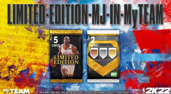 Limited Edition Locker Code for NBA 2K22