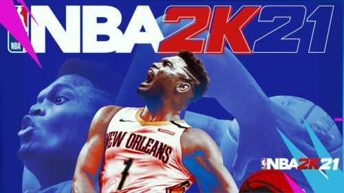 nba 2k21 ps5 series x cover zion